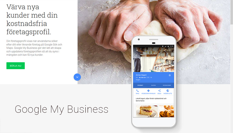 Google My Business - tips nystartade företag